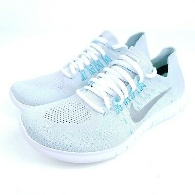 the best attitude 5e0ea 0a273 NIKE Free RN FLYKNIT 2017 Womens Running Shoes Pure Platinum Sizes    880844  012