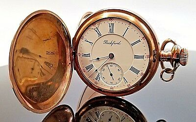 Vintage - 20 Year Old - Rockford 15J - Pocket Watch - **sold As Is**
