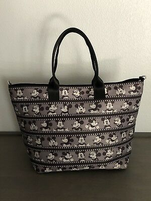 Harveys for Disney Couture Seat Belt Tote Purse -Mickey Silver Screen Filmstrip