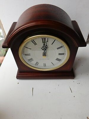 London Clock Company Wooden Westminster Chime Anniversary Mantle Clock free ppUK
