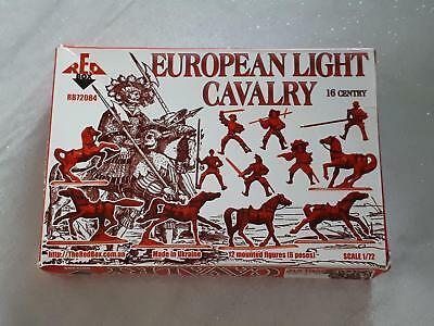 Redbox 72084 European Light Cavalry Set 1 leichte Kavallerie 16th Century  1:72
