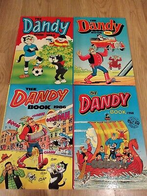 Dandy Books Book 1984, 1985, 1986, 1988