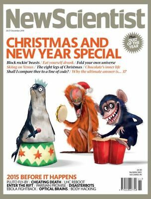NEW SCIENTIST MAGAZINE 20th DEC 2014 ~ SPECIAL OFFER BUY ANY 6 ISSUES FOR £10.00