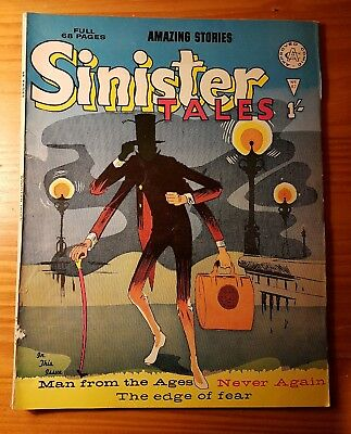 Amazing Stories Sinister Tales #87 Alan Class UK 1960s