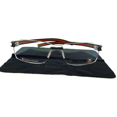 Tag Heuer TH3566-004 Women's Two Tone Frame With Clear Lens Genuine Eyeglasses