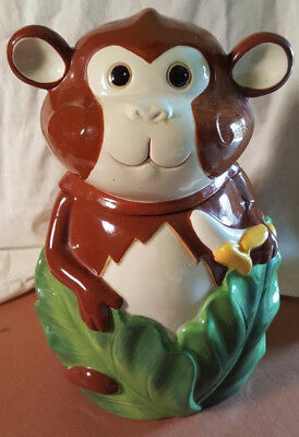 Cheeky Monkey Cookie Jar