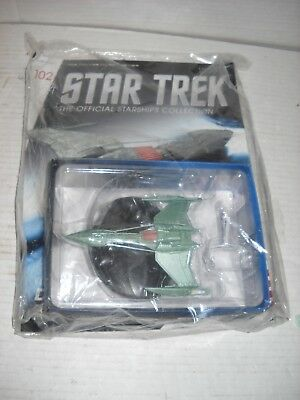 Eaglemoss Star Trek Enterprise Klingon D-5 class Battle Cruiser + magazine #102