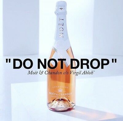 Moet & Chandon Nectar Imperial Rose By Virgil Abloh Limited Edition IN STOCK
