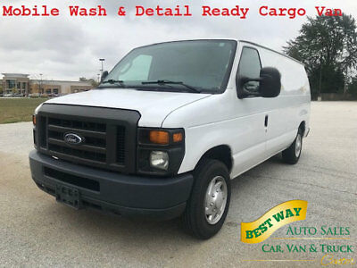 2012 Ford Econoline Cargo Van Mobile Wash & Detail Ready Cargo Van 2012 Ford Mobile Wash & Detail No windows Ready to Make you money!!
