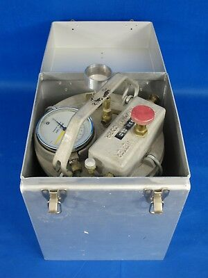 Soil Test Concrete Air White Meter 2832 CLC Inmont Corporation with Metal Case