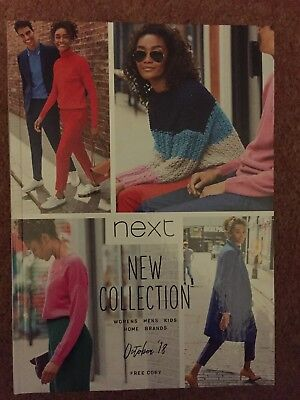 NEXT  OCTOBER 2018 FASHION DIRECTORY CATALOGUE New Collection