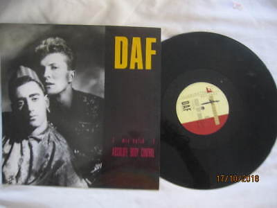 Daf Absolute Body Control Vinyl Record Single 12""