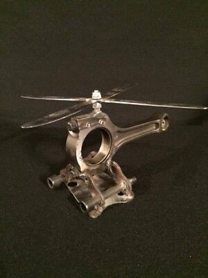 Scrap Metal Art Helicopter (Kiacopter)