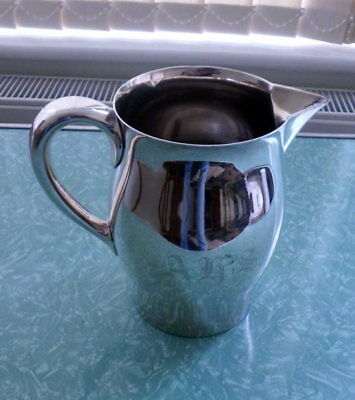 Reed & Barton, USA  large vintage silver-plated jug or pitcher - 19cms high