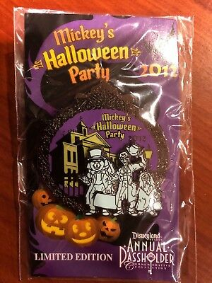 Disneyland - Mickey's Halloween Party 2012 - AP - Hitchhiking Ghosts pin