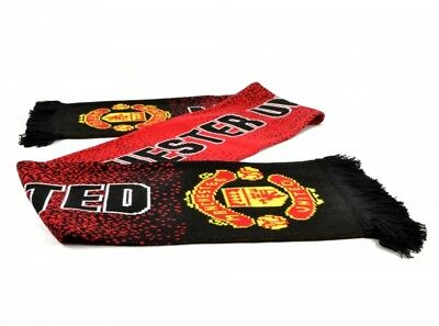 Manchester United FC Official Speckled Scarf Gift Brand New
