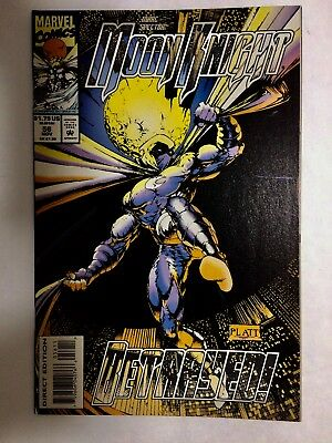 Moon Knight # 56 Marc Spector ( Marvel) NM Stephen Platt Art Nov 1993