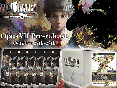 PREORDER - Final Fantasy Trading Card Game Opus Vii Pre-release Kit  - BRAND NEW