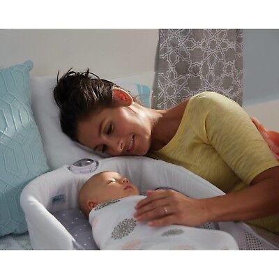 Portable Close Secure Infant Sleeper, Dots Safe Soft Comfortable night light