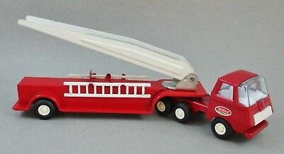 Vintage Tiny Tonka no. 675 Aerial Ladder Fire Truck, COMPLETE