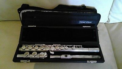 Pearl Flute Pf-505 Student Flute - Hard Case And Carry Case
