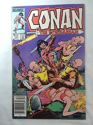 Conan The Barbarian 165.  Marvel. December 1984
