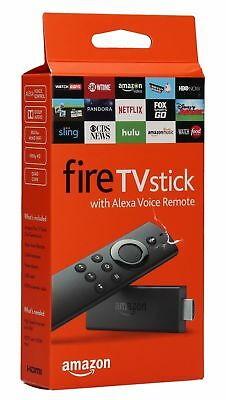 (NEW) Amazon Fire TV Stick w/ Alexa Voice Remote Streaming Media Player 2ND GEN