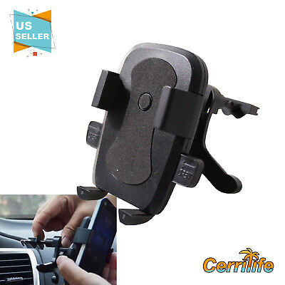 US New Universal 360° Rotating Car Air Vent Mount Holder For Mobile Phone GPS