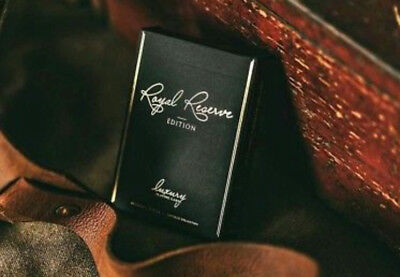 Royal Reserve Black playing cards New sealed deck