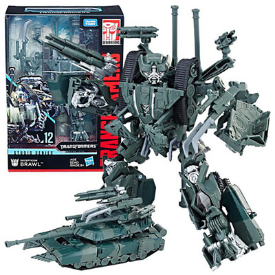 """Transformers Studio Series Voyager SS-12 Brawl Action Figure 7"""" Toy"""