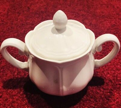 Vintage Federalist Ironstone Harmony House by Sears #4328 Sugar Bowl And Lid