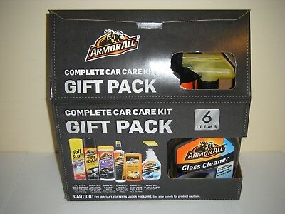 Armor All Complete Car Care Gift Pack Set 6 Items NEW