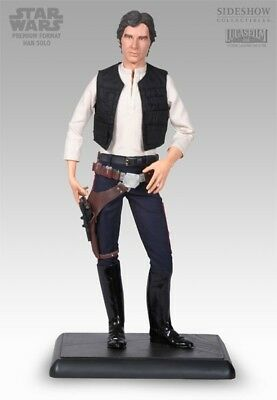 Sideshow Premium Format Star Wars: A New Hope Han Solo 1/4 Scale Statue 533/2500