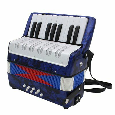 1PC 17 Key 8 Bass Small Accordion Educational Musical Instrument for Children LU