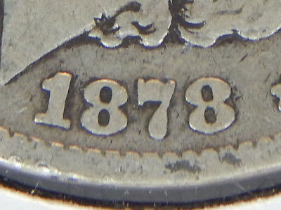 1878 Morgan Silver Dollar*7th Feathers-2nd Reverse*90% JUNK SILVER*