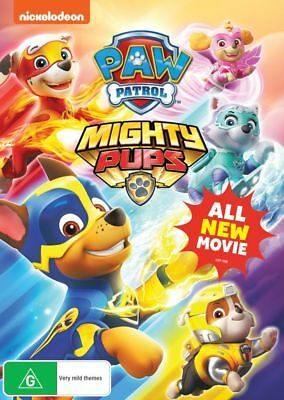 Paw Patrol - Mighty Pups (DVD, 2018) (Region 4) New Release