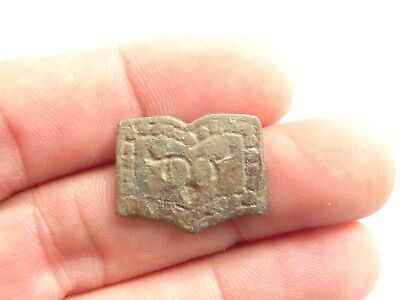 Ancient CELTIC Bronze AMULET / TALISMAN > Buffalo Head - La Tene Culture 300 BC
