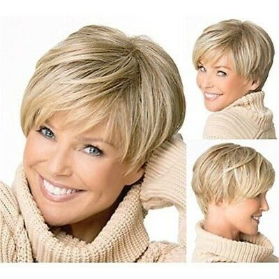12 Inches Fashion Synthetic Fluffy Women Laides Wigs Short Hair Wig WE9X