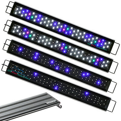 "AQUANET Aquarium LED Light Brightness Adjustable 24""-33"" Fish Tank Full Spectrum"