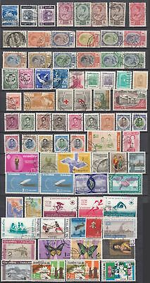 Siam/Thailand - nice older Lot of fine used Stamps high CV   (22522