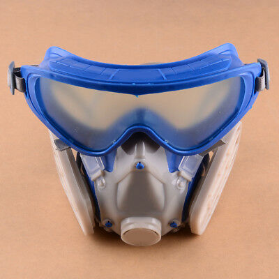 Safety Respiratory Gas Mask Full Face Dual Protection Filter Chemical Anti-Dust