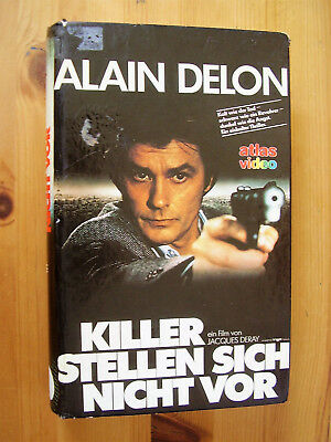 VHS Killer stellen sich nicht vor, Alain Delon, Jacques Deray, Atlas Video