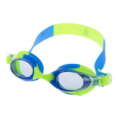 Kids Swimming Goggles Adjustable Straps Water Resistance Eye-cup Silicone Band