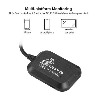 Mini Car Vehicle GPS GPRS GSM Tracker Set SMS Real Time Network Monitor Tracking