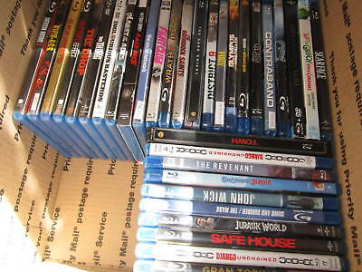 Huge Lot of 34 Blu-ray Movies /// Great Titles /// Pre-owned in good condition