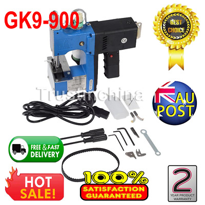 180W Industrial Portable Electric Bag Stitching Closer Seal Sewing Machine 220V