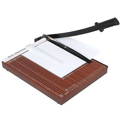 Heavy Duty A3-B7 12 Sheets Paper Cutter Trimmer Home Office Commercial Wooden