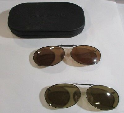 a118617413c POLAR OPTICS CLIP On Sunglasses 52 Rec 1 Copper Tint Lenses With ...
