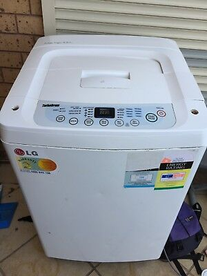 LG Washing Machine - 5.5kg Fuzzy Logic WF-T556 Washer Dryer