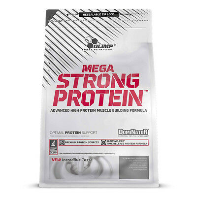 Olimp Nutrition Dominator Mega Strong Protein, 700g - FRAGOLA